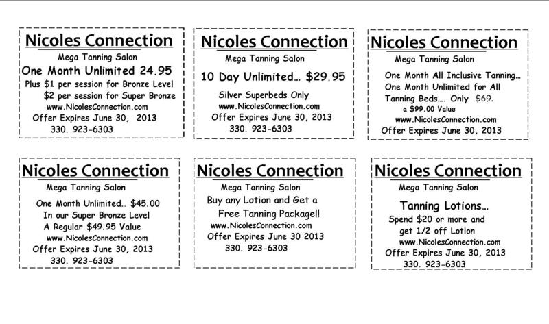Nicole's connection coupons